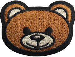 LOGO MOSCHINO BEAR STICKER 31 - A6 (12cm)