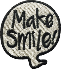 CHỮ MAKE SMILE STICKER 100 A7