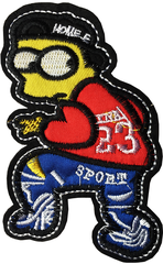 BART SIMPSON JEAN 1928 STICKER 43 - A7 (10cm)