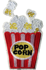 BẮP POP CORN VÀNG STICKER 141 - A6 (10cm)