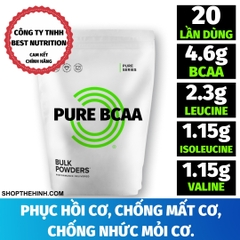 PURE INSTANT BCAA (20 LẦN DÙNG)