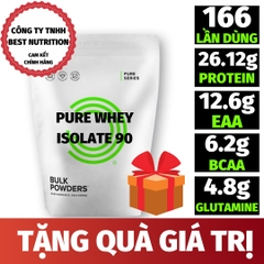 PURE WHEY ISOLATE 90 (5KG - 166 LẦN DÙNG)