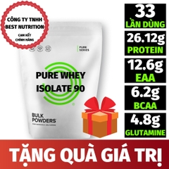 PURE WHEY ISOLATE 90 (1KG - 33 LẦN DÙNG) - SHARE TÚI ZIP