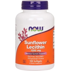 NOW SUNFLOWER LECITHIN (100 VIÊN)