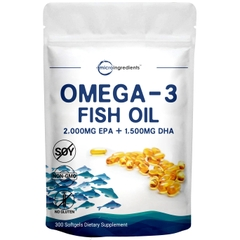 TRIPLE STRENGTH OMEGA 3 FISH OIL (300 VIÊN)