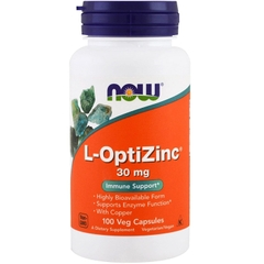 NOW L-OPTIZINC 30MG (100 VIÊN)
