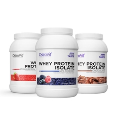 OSTROVIT WHEY PROTEIN ISOLATE (700G) - MUA 2 TẶNG 1 (70 LẦN DÙNG)