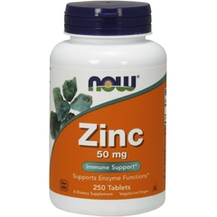NOW ZINC 50MG (250 VIÊN)