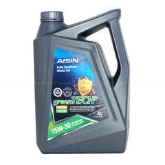 Nhớt động cơ AISIN ESFNP0534P 5W-30 SN PLUS greenTECH+ Fully Synthetic 4L