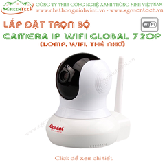 Bộ camera IP wifi Global HD 720p