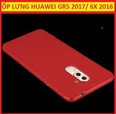 ỐP LƯNG SILICON HUAWEI 6X 2016