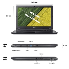 Laptop Acer Aspire A315-53G-5790
