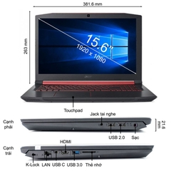 Laptop Acer Nitro 5 AN515-52-51GF