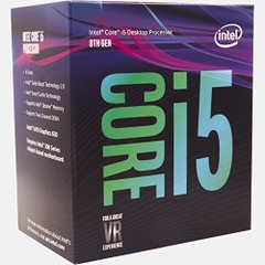 CPU Intel Core i5 8400 (Up to 4.0Ghz/ 9Mb cache) Coffee Lake