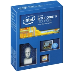 Intel® Core™ i7 - 5820K 3.30GHz up to 3.6GHz / (6/12) / 15MB / NONE GPU / Socket 2011-v3 (chưa quạt)
