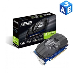 Card đồ họa VGA Asus PH-GT1030-O2GD4 (NVIDIA Geforce/ 2Gb/ DDR4/ 64 Bits)