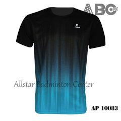 Badminton Shirt Apacs Original 10083 black blue Lee Hyun Il