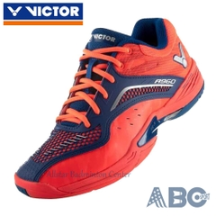 Badminton Shoes Victor A960 red orange