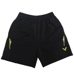 Badminton Shorts Victor Factory Made striped blue lime white