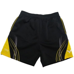 Badminton Shorts Victor Factory Made pattern yellow