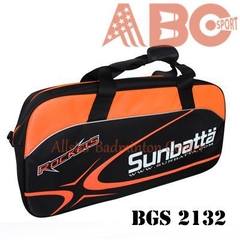 Badminton Bag Original Sunbatta BGS 2132 black orange