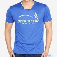 Badminton Shirts Donex Pro Original Training blue
