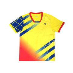 Badminton Shirts Victor 251 yellow