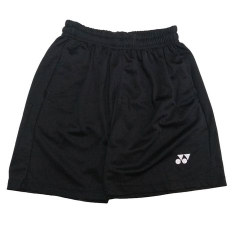 Badminton Shorts Yonex Factory Made black trơn