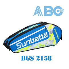 Badminton Bag Badminton Original Sunbatta BGS 2158  Blue White