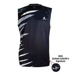 Badminton Shirt sleeveless Apacs Original 338 black
