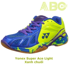 Badminton Shoes Yonex Super Ace Light blue /blue lime