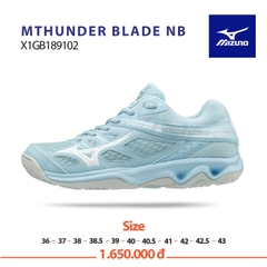 Mizuno Badminton Shoes THUNDER BLADE blue white