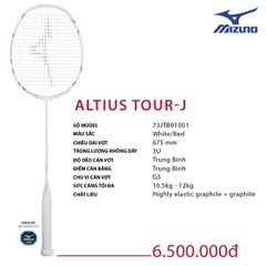 Badminton Racket Mizuno Altius Tour J