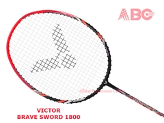 Badminton Racket Victor Original Brave Sword 1800