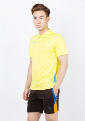 Badminton Shirt Donex Original Training Yellow