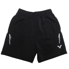 Badminton Shorts Victor Factory Made striped grey white