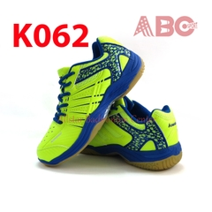 Badminton Shoes Kawasaki K062 blue lime