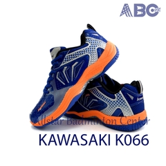 Badminton Shoes Kawasaki K066 blue orange
