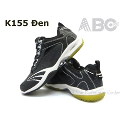 Badminton Kawasaki Shoes K155 Black