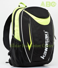 Badminton Backpack Kawasaki 8227 Lime