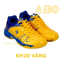 Badminton Shoes Kumpoo KH20 Yellow