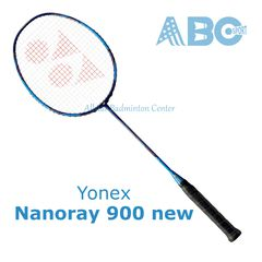 Badminton Racket Yonex Nanoray 900 - 2017 blue