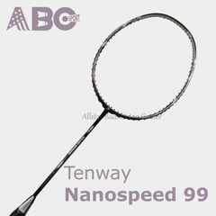 Badminton Racket Tenway Original Nano Speed 99