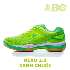 Badminton Shoes Protech Nexo 2 blue lime