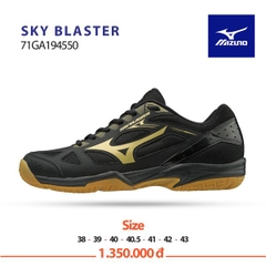 Badminton Shoes Mizuno Sky Blaster Black Yellow 194550