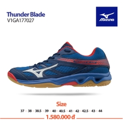 Mizuno Badminton Shoes Thunder Blade blue white red