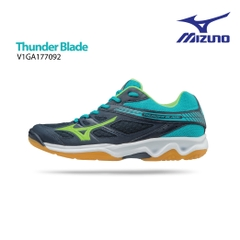 Badminton Shoes Mizuno Thunder Blade blue