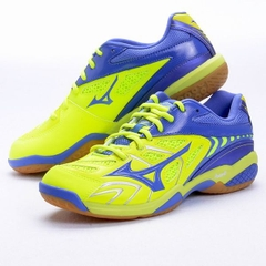 Badminton Shoes  Mizuno Wave Fang SS2 Yellow Blue - 71GA171027