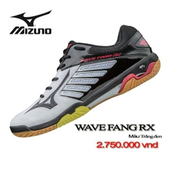 Badminton Shoes Mizuno Wave Fang RX Đen 170509
