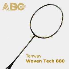 Badminton Racket Tenway Original Woven Tech 880